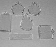 Keyrings – various sizes, takes insert